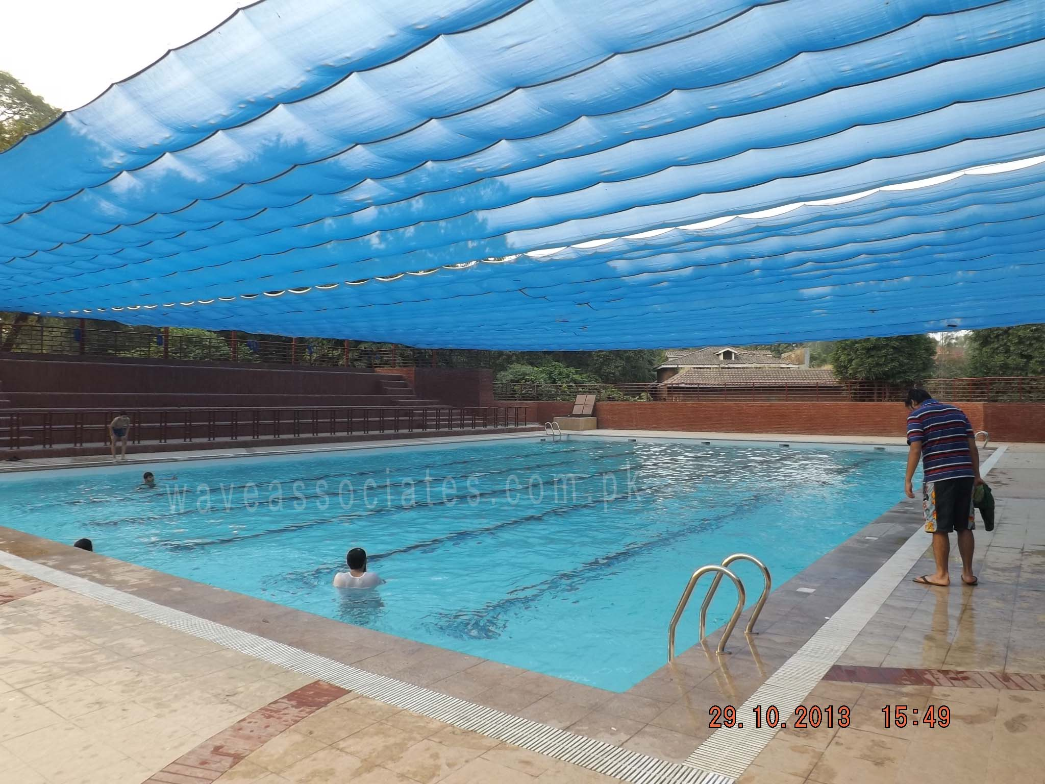 Wave associates samanabad sports complex - Swimming pool in bahria town lahore ...